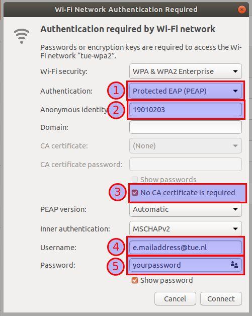 Configuring WiFi - TU/e Linux Wiki